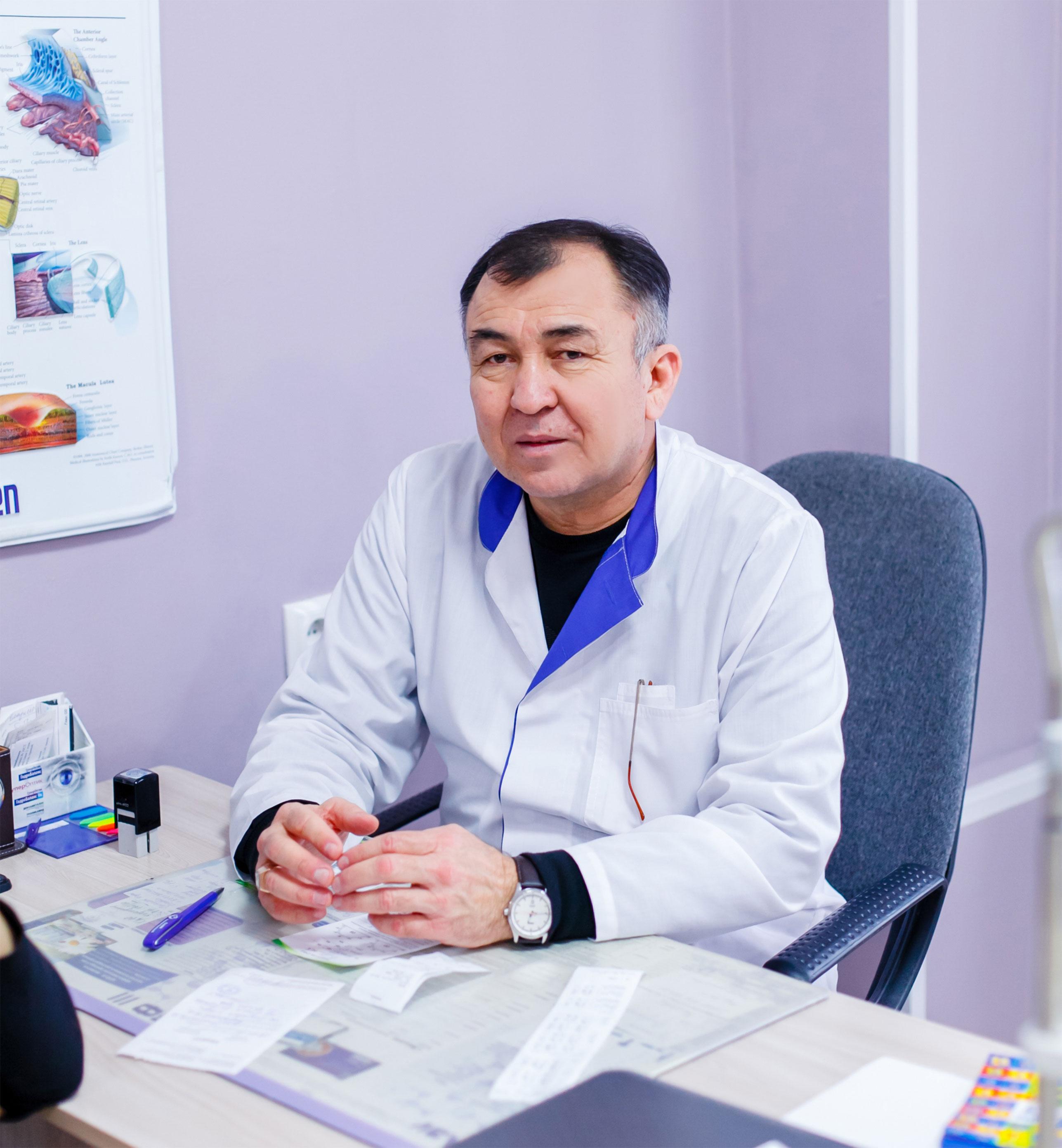 Таджиков-Жангельды-Кулунович---Офтальмолог