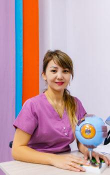 Есекеева Эльмира Нурлыбековна - Детский офтальмолог