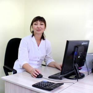 Заведующая отделением профессиональной патологииᅠᅠᅠᅠᅠᅠᅠ Шарипова Кенжегуль Мадигалиевна ᅠᅠᅠᅠᅠᅠКонтактный телефон: 8 (701) 467 - 31 - 96